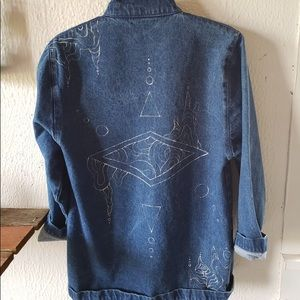Hand-Painted One-Of-A-Kind Jacket